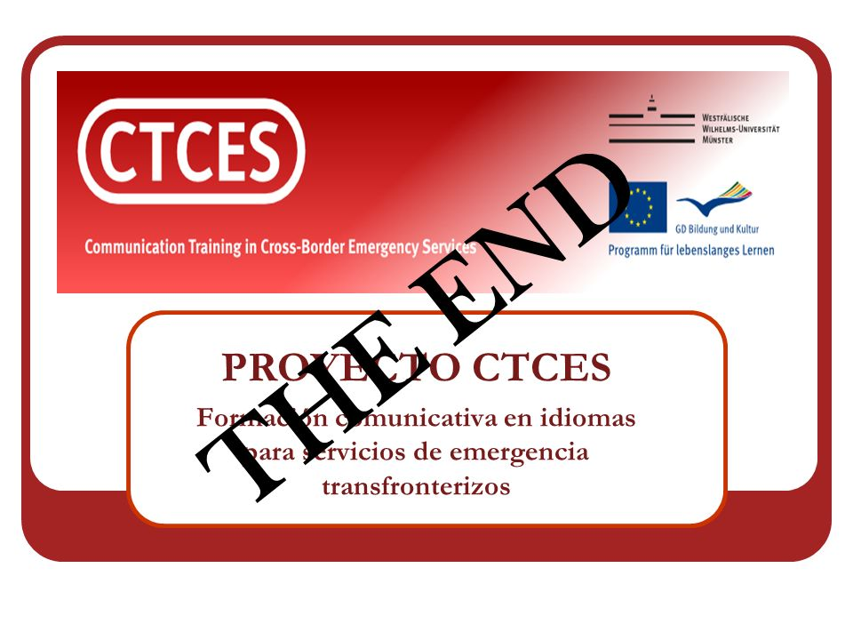 THE END PROYECTO CTCES.