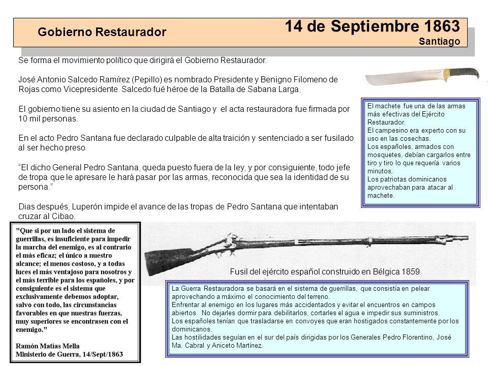 14 de Septiembre 1863 Santiago