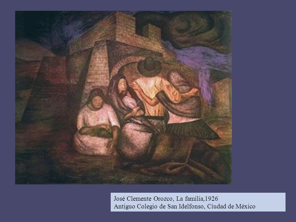 José Clemente Orozco, La familia,1926