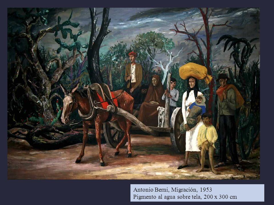 Antonio Berni, Migración, 1953