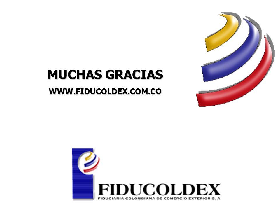 MUCHAS GRACIAS WWW.FIDUCOLDEX.COM.CO