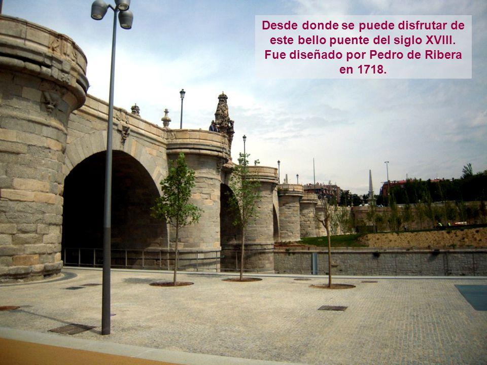 Desde donde se puede disfrutar de este bello puente del siglo XVIII.