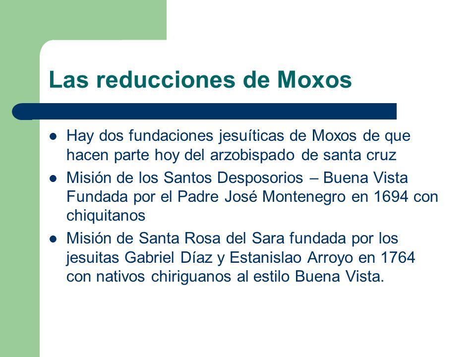 Las reducciones de Moxos
