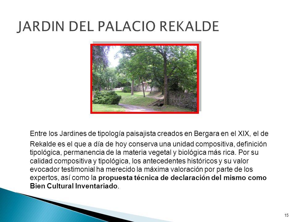 JARDIN DEL PALACIO REKALDE