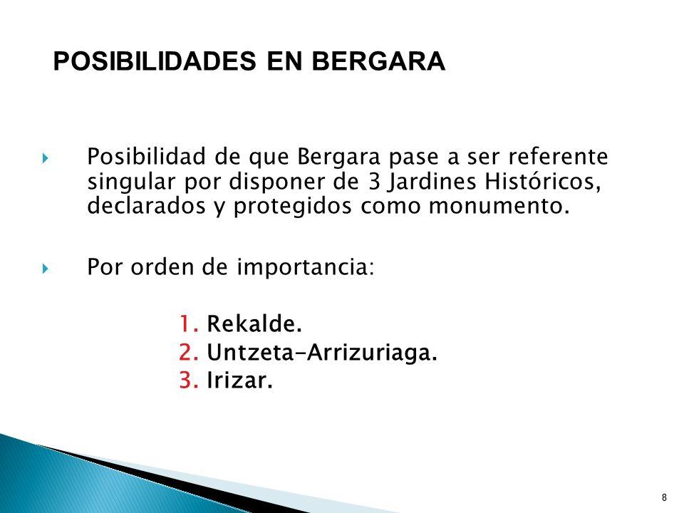 POSIBILIDADES EN BERGARA