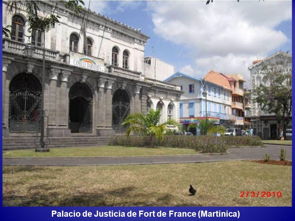 Palacio de Justicia de Fort de France (Martinica)