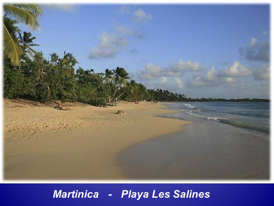 Martinica - Playa Les Salines
