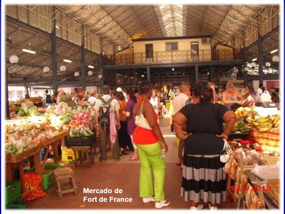 Mercado de Fort de France
