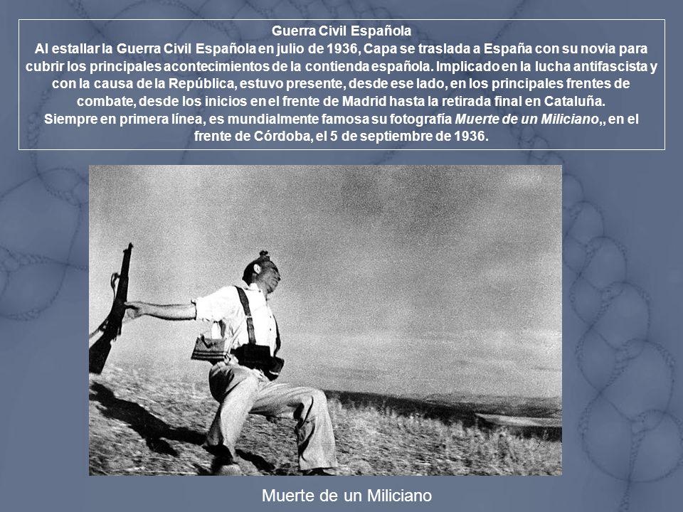 Muerte de un Miliciano Guerra Civil Española