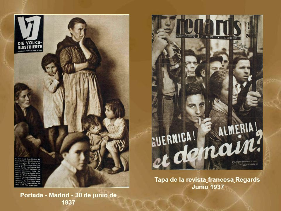 Tapa de la revista francesa Regards Junio 1937