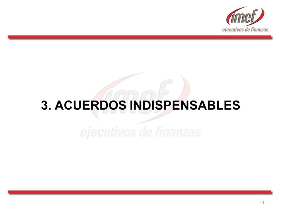 3. ACUERDOS INDISPENSABLES