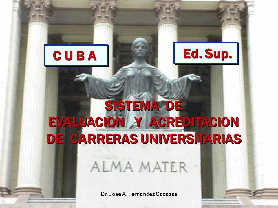 EVALUACION Y ACREDITACION DE CARRERAS UNIVERSITARIAS
