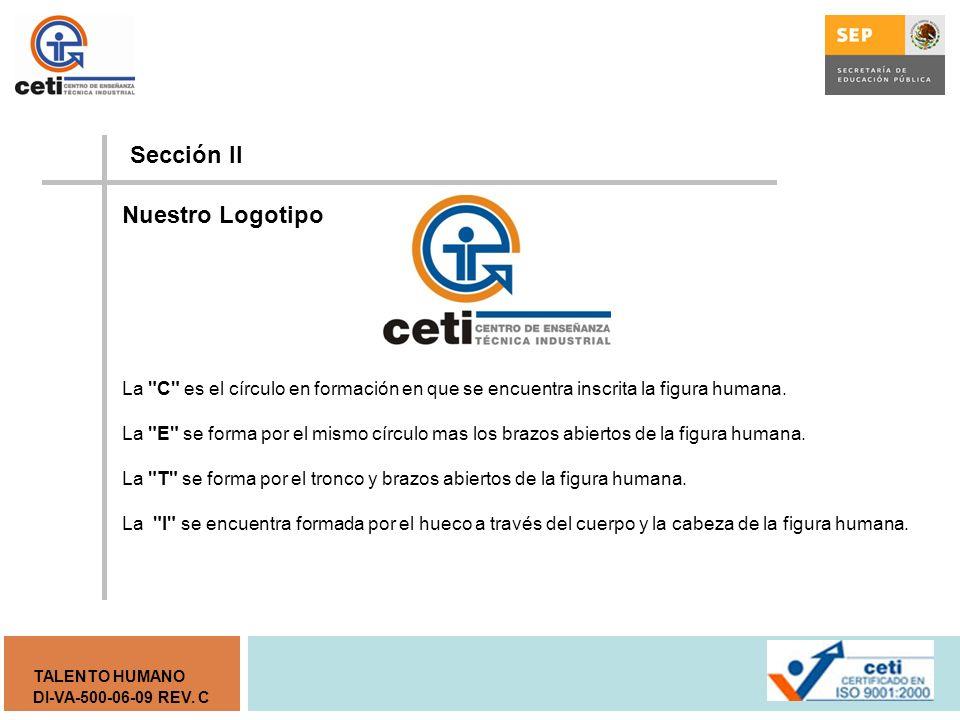 Sección II Nuestro Logotipo