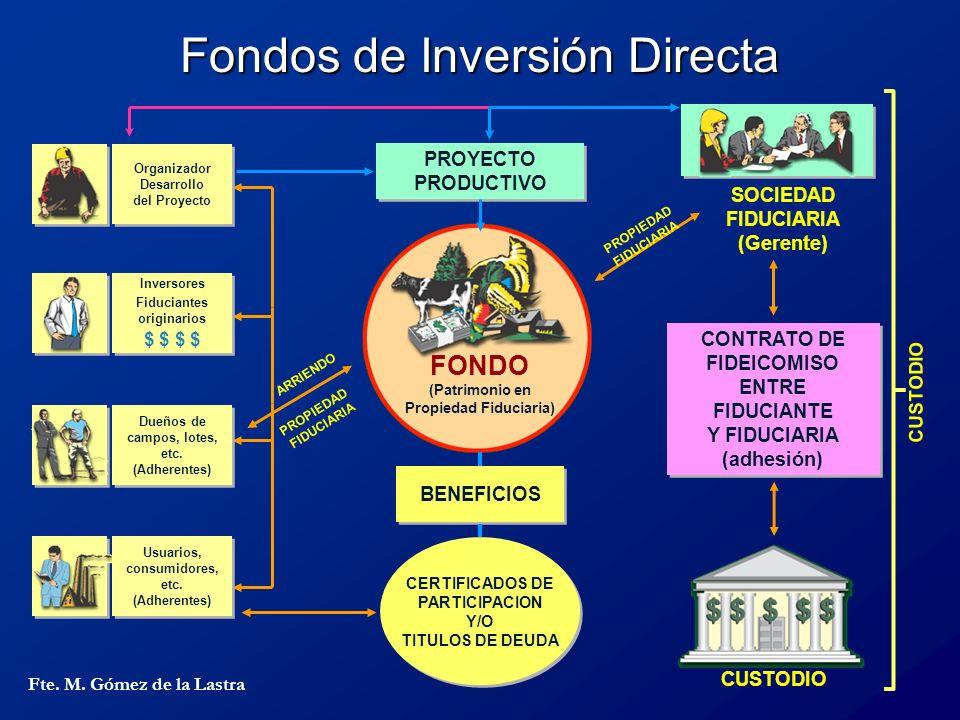 Fondos de Inversión Directa