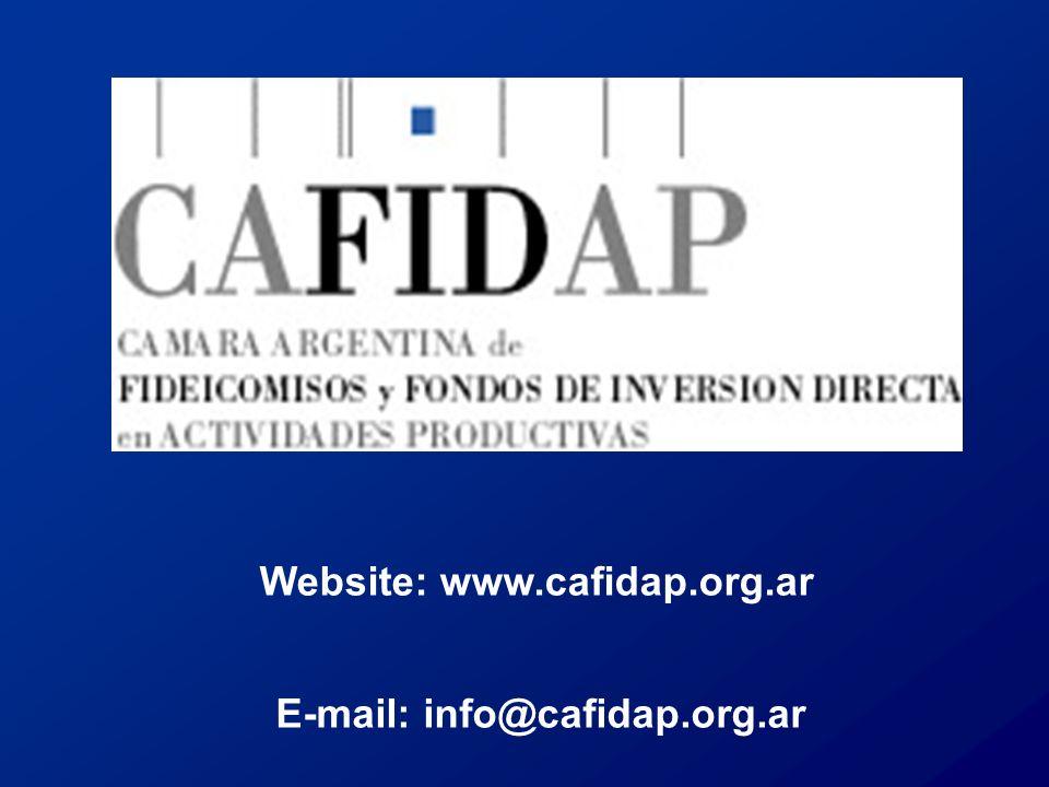 Website: www.cafidap.org.ar E-mail: info@cafidap.org.ar