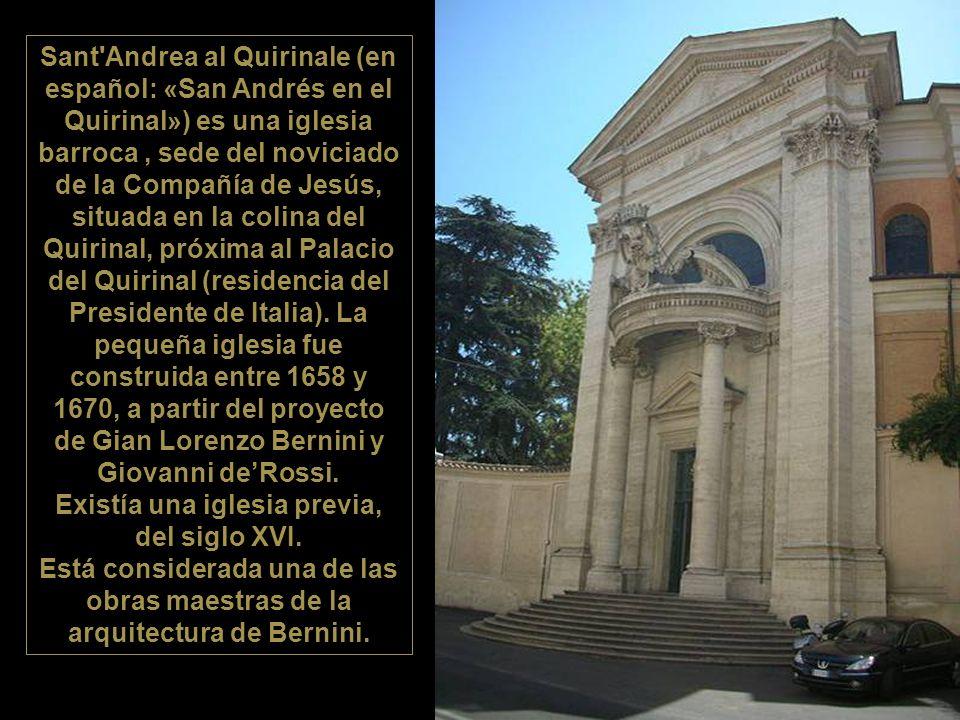 Existía una iglesia previa, del siglo XVI.