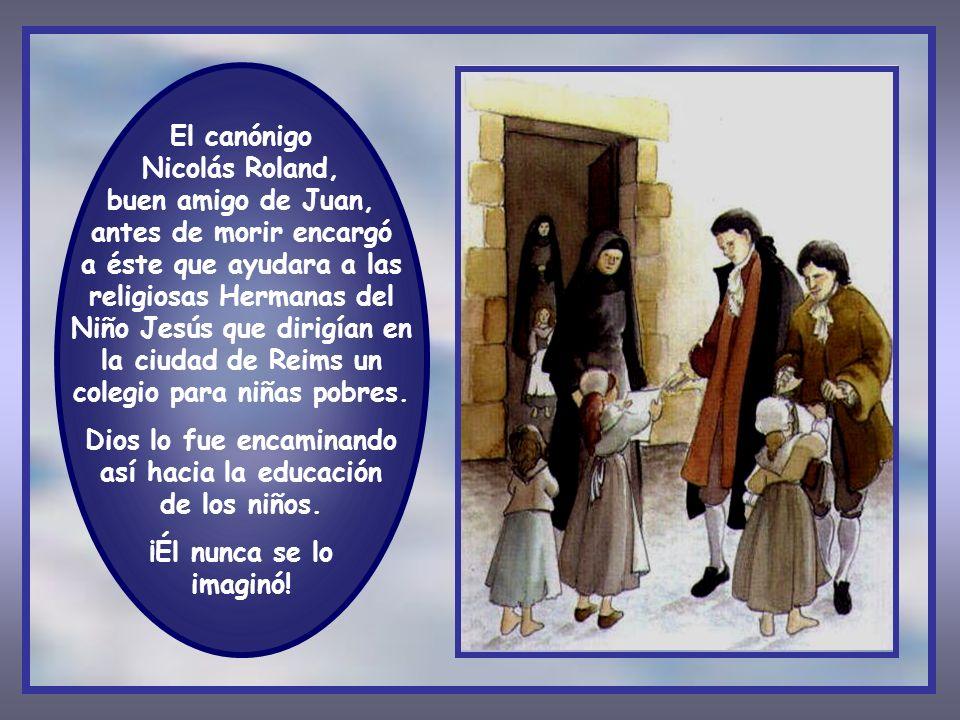 Dios lo fue encaminando así hacia la educación de los niños.
