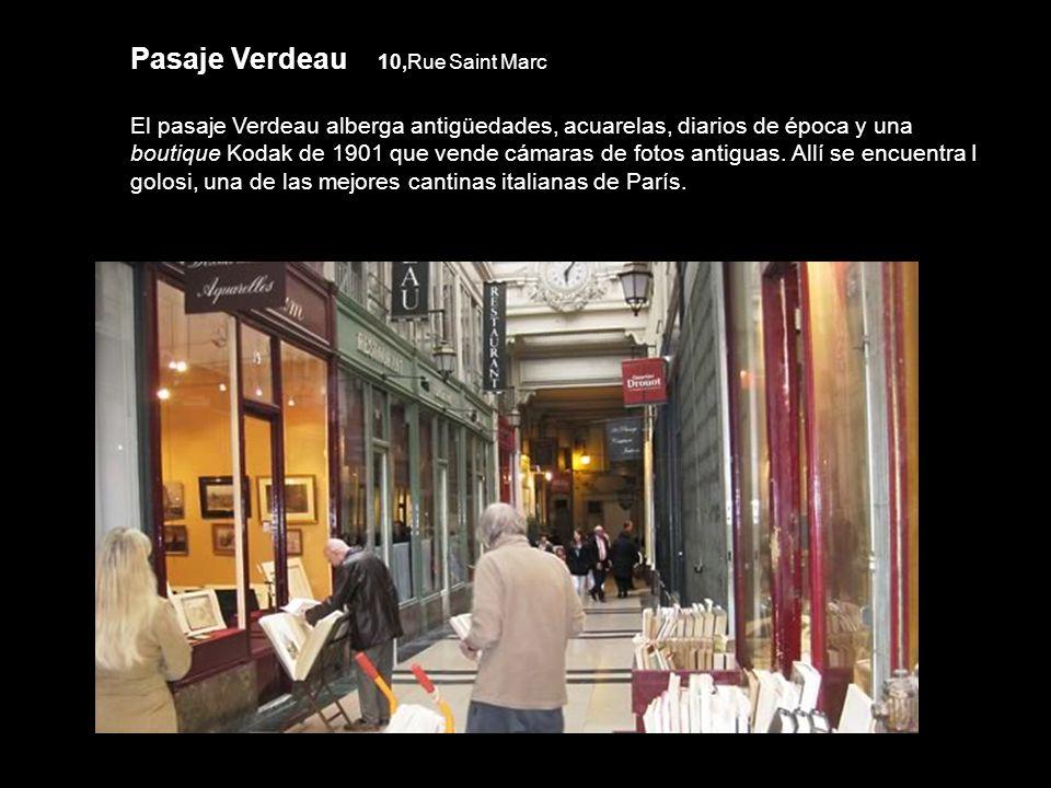 Pasaje Verdeau 10,Rue Saint Marc