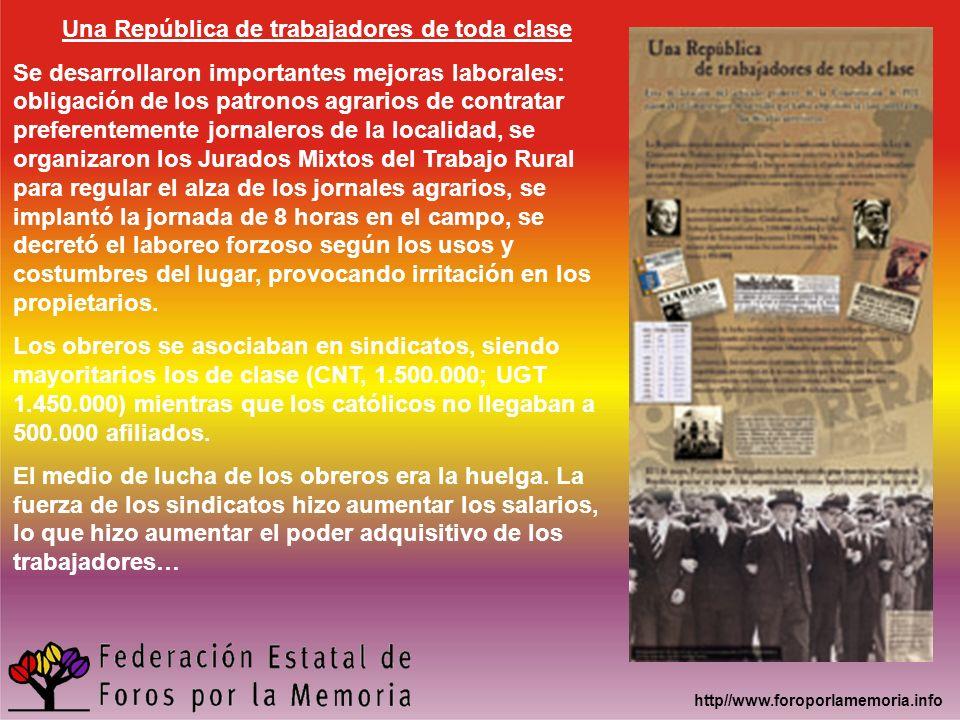 Una República de trabajadores de toda clase