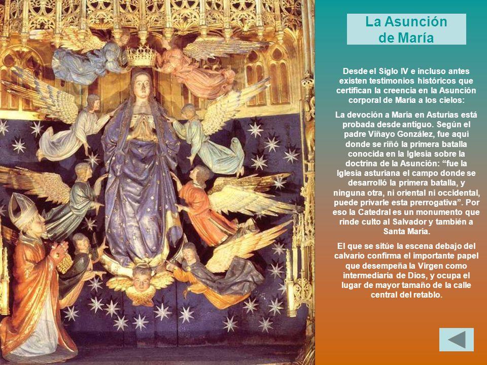 La Asunción de María.