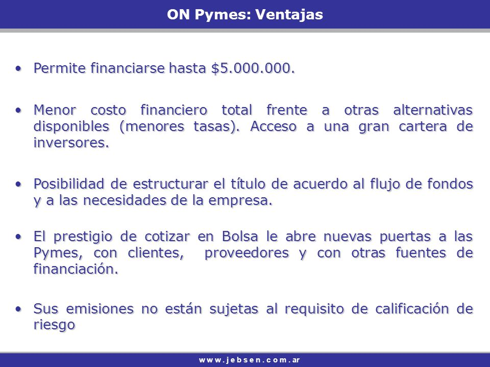 Permite financiarse hasta $5.000.000.