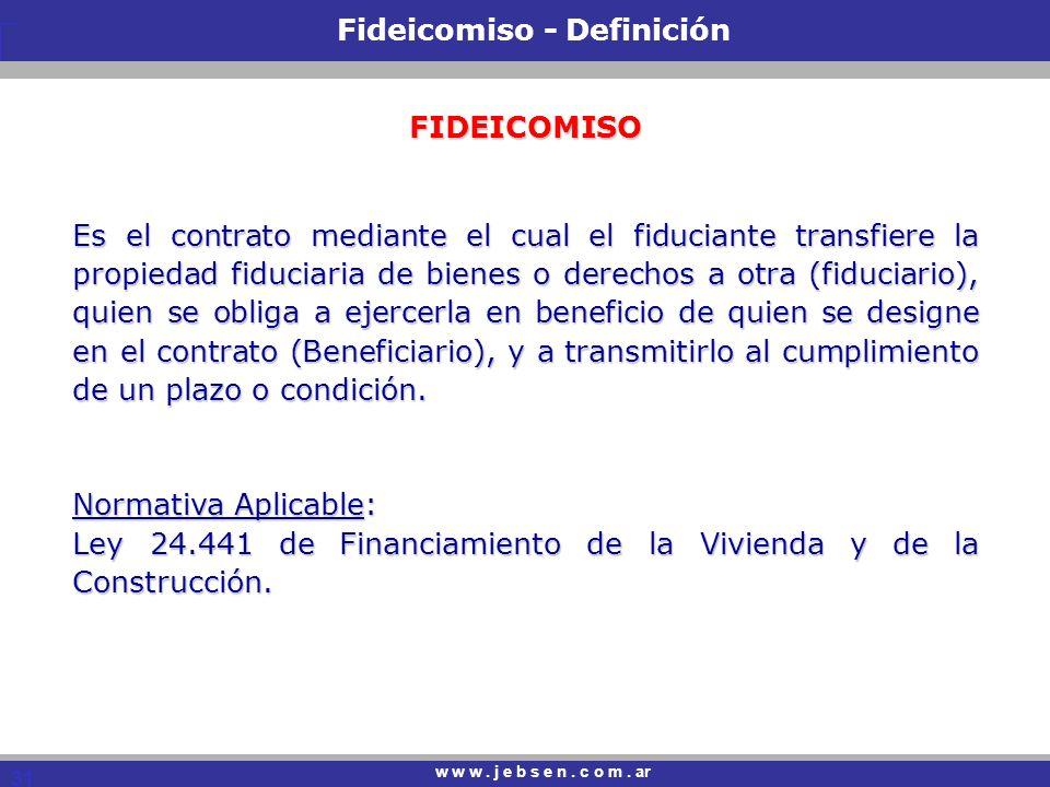 Fideicomiso - Definición