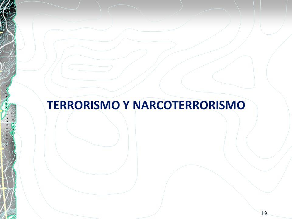 TERRORISMO Y NARCOTERRORISMO