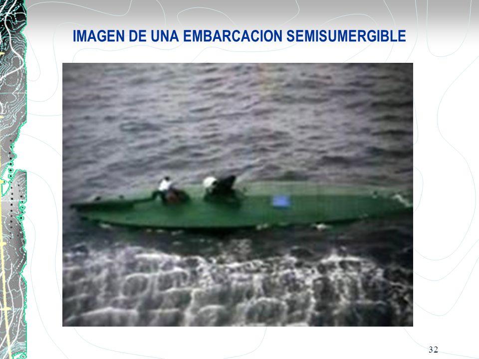 IMAGEN DE UNA EMBARCACION SEMISUMERGIBLE