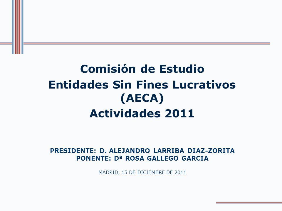 Entidades Sin Fines Lucrativos (AECA)