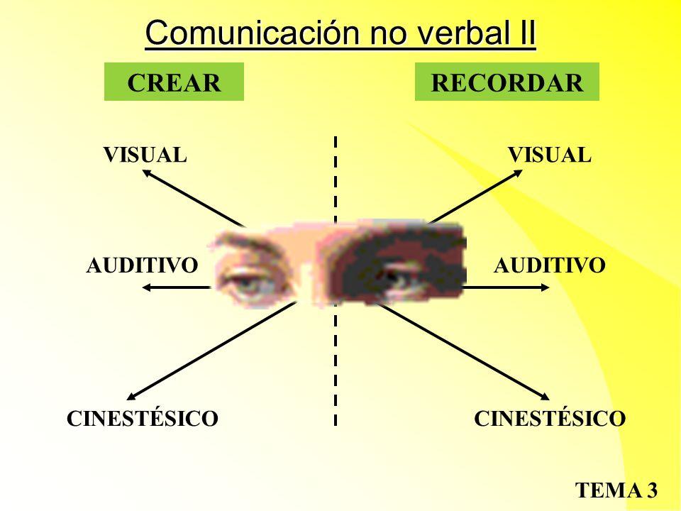 Comunicación no verbal II