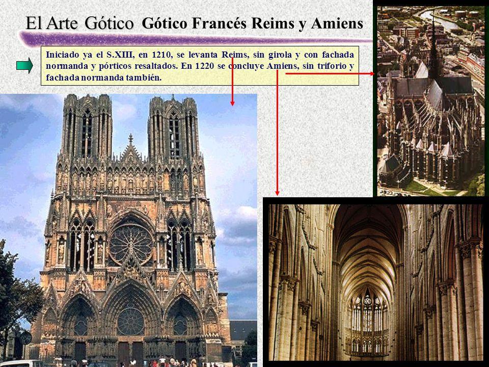 Gótico Francés Reims y Amiens