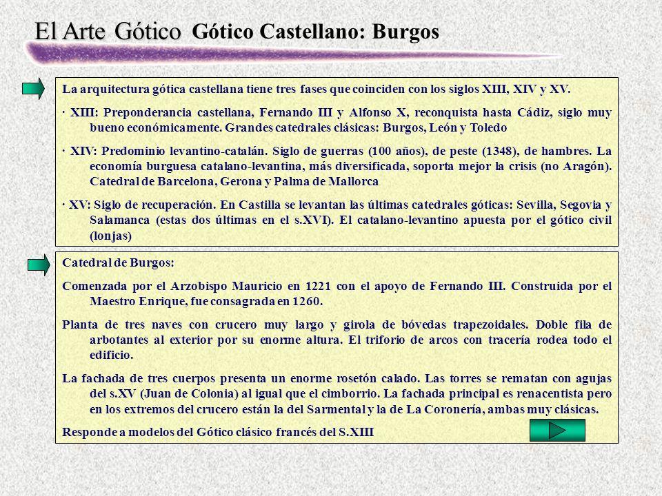 Gótico Castellano: Burgos