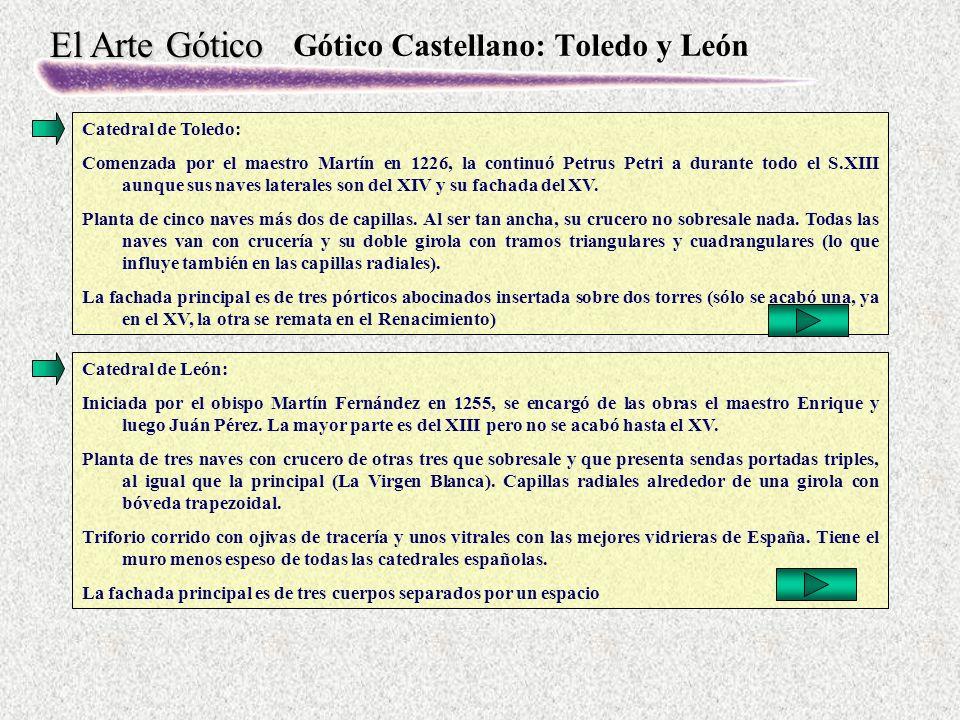 Gótico Castellano: Toledo y León