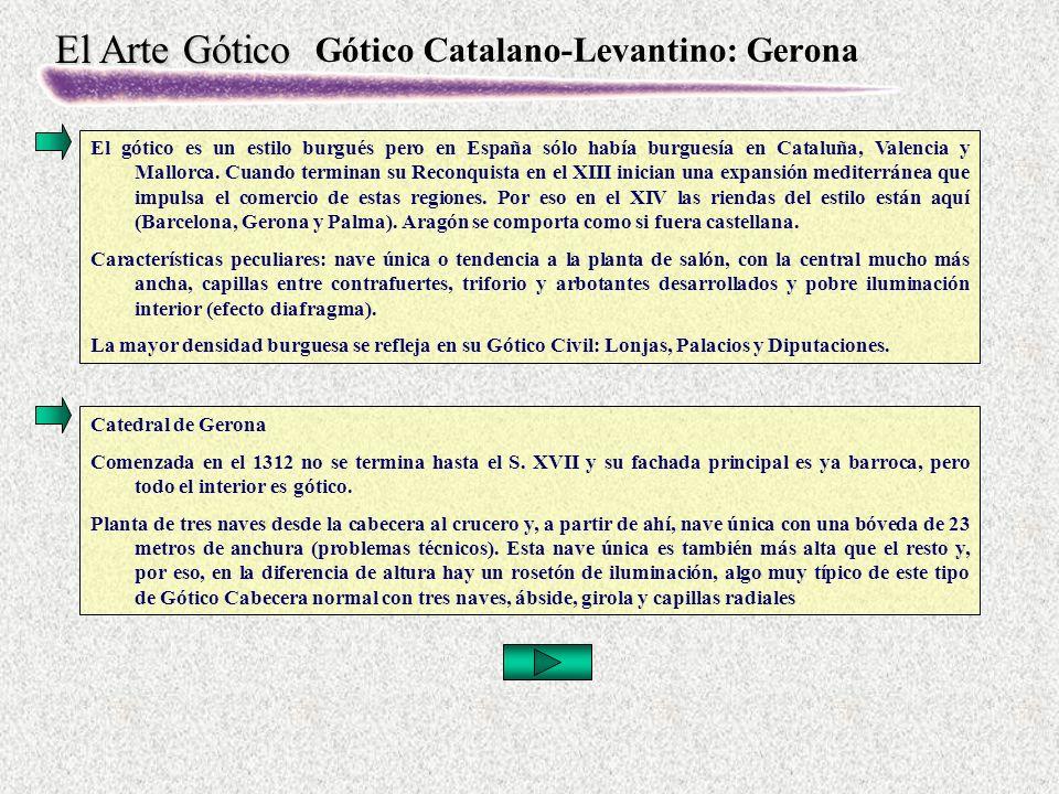 Gótico Catalano-Levantino: Gerona