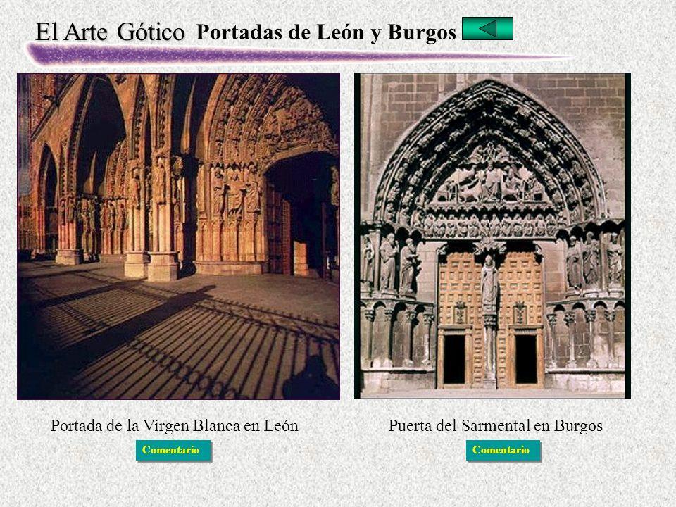 Portadas de León y Burgos