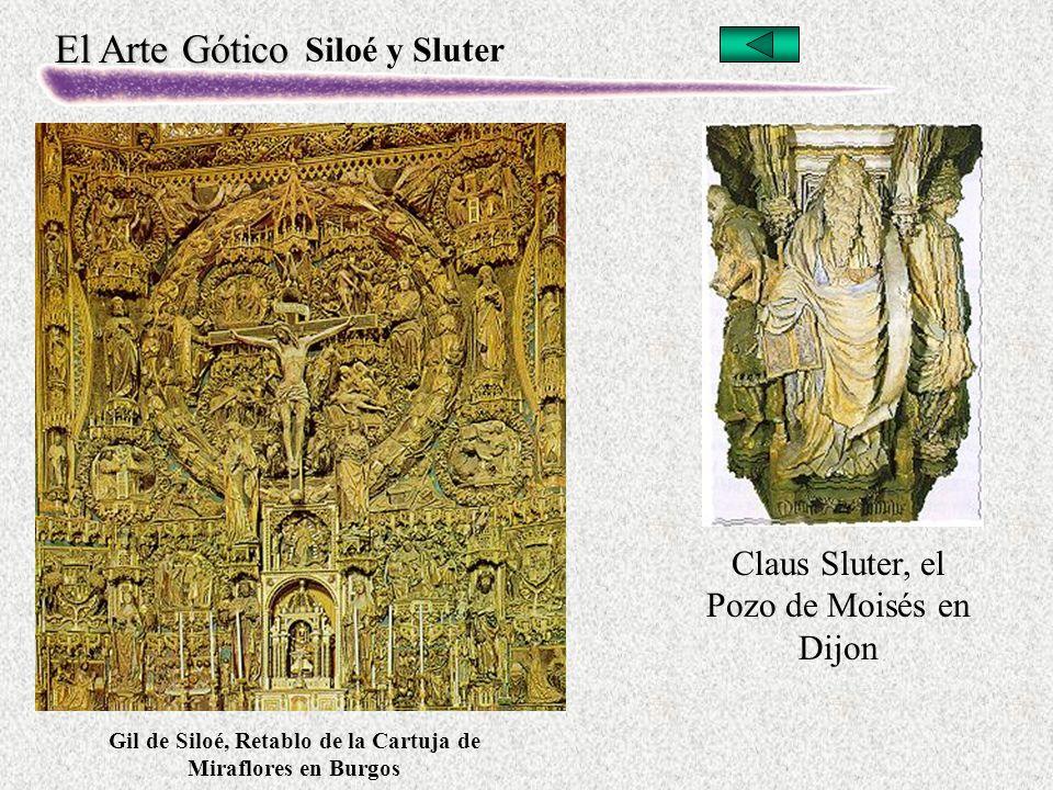 Gil de Siloé, Retablo de la Cartuja de Miraflores en Burgos