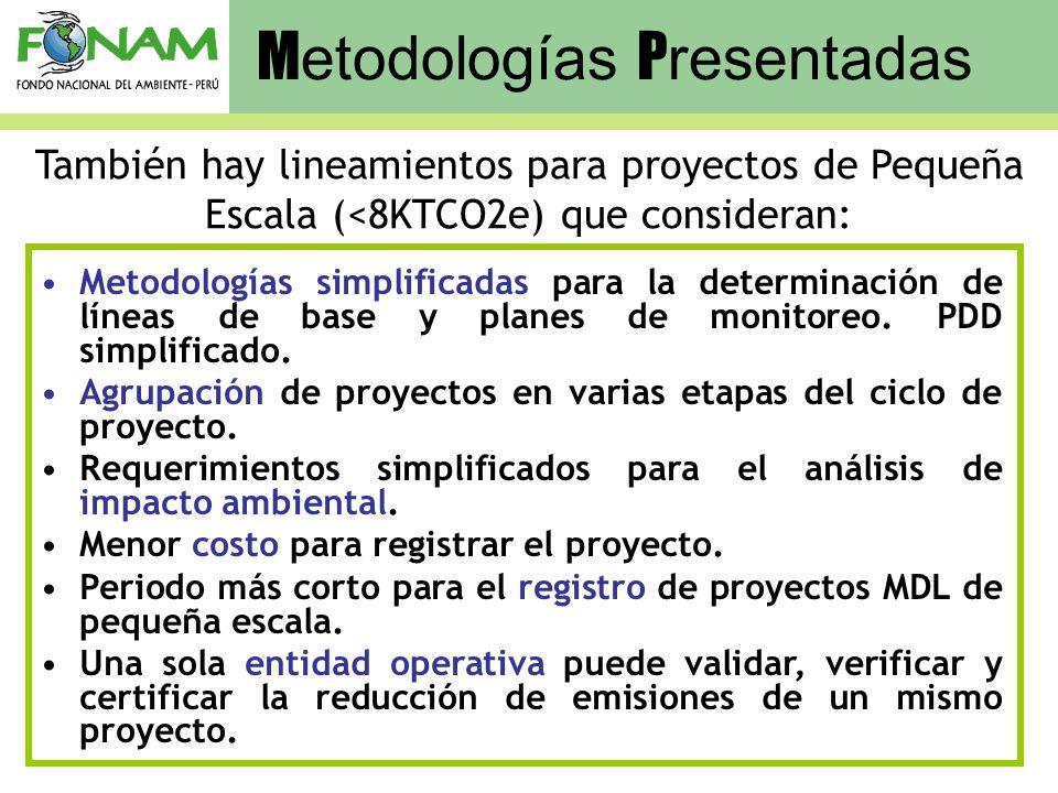 Metodologías Presentadas