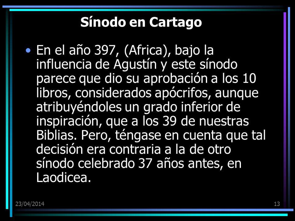 Sínodo en Cartago