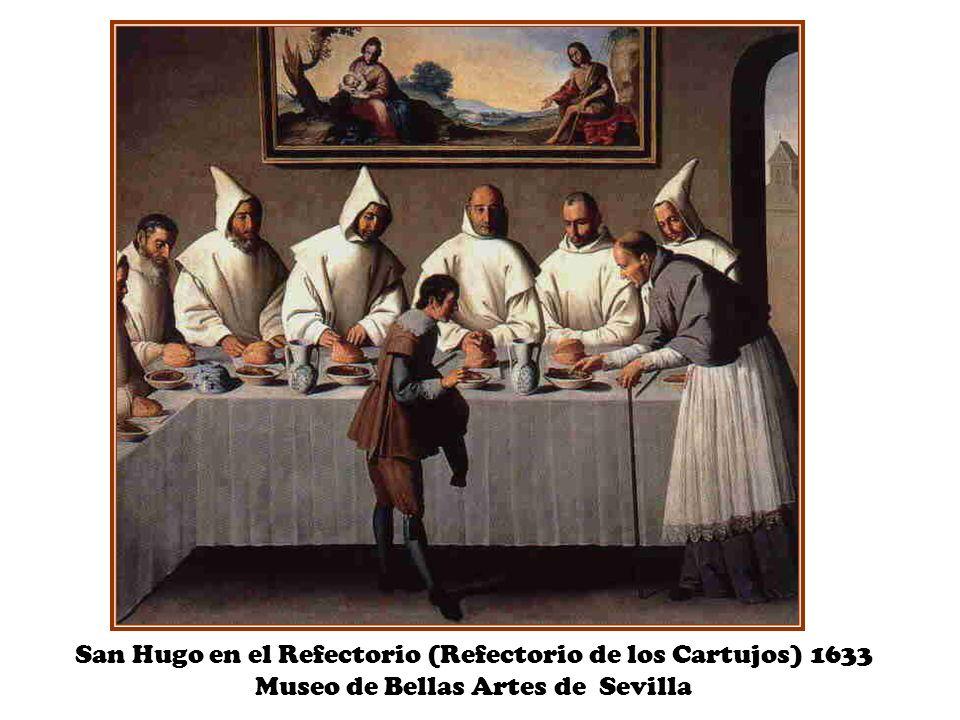 San Hugo en el Refectorio (Refectorio de los Cartujos) 1633