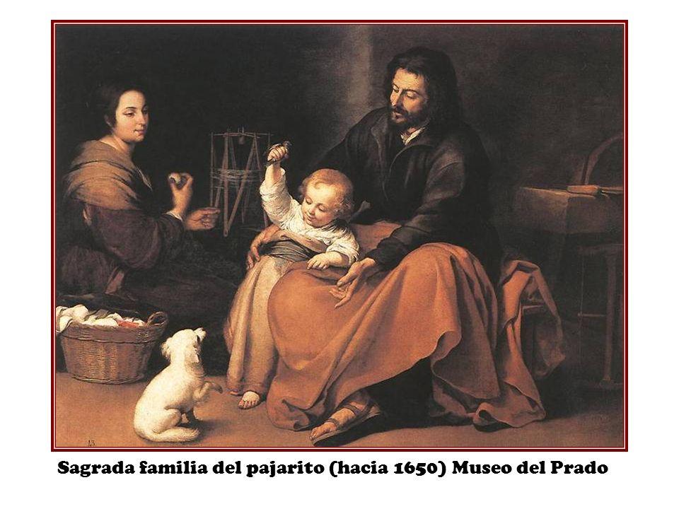 Sagrada familia del pajarito (hacia 1650) Museo del Prado