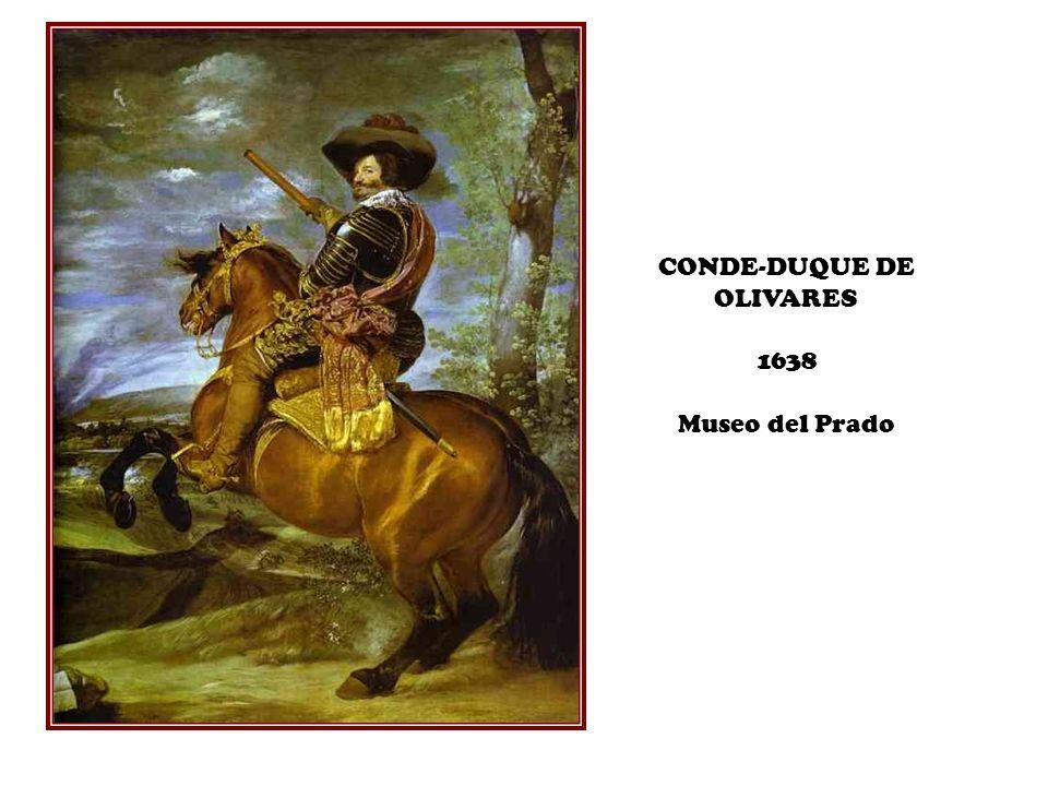 CONDE-DUQUE DE OLIVARES 1638 Museo del Prado
