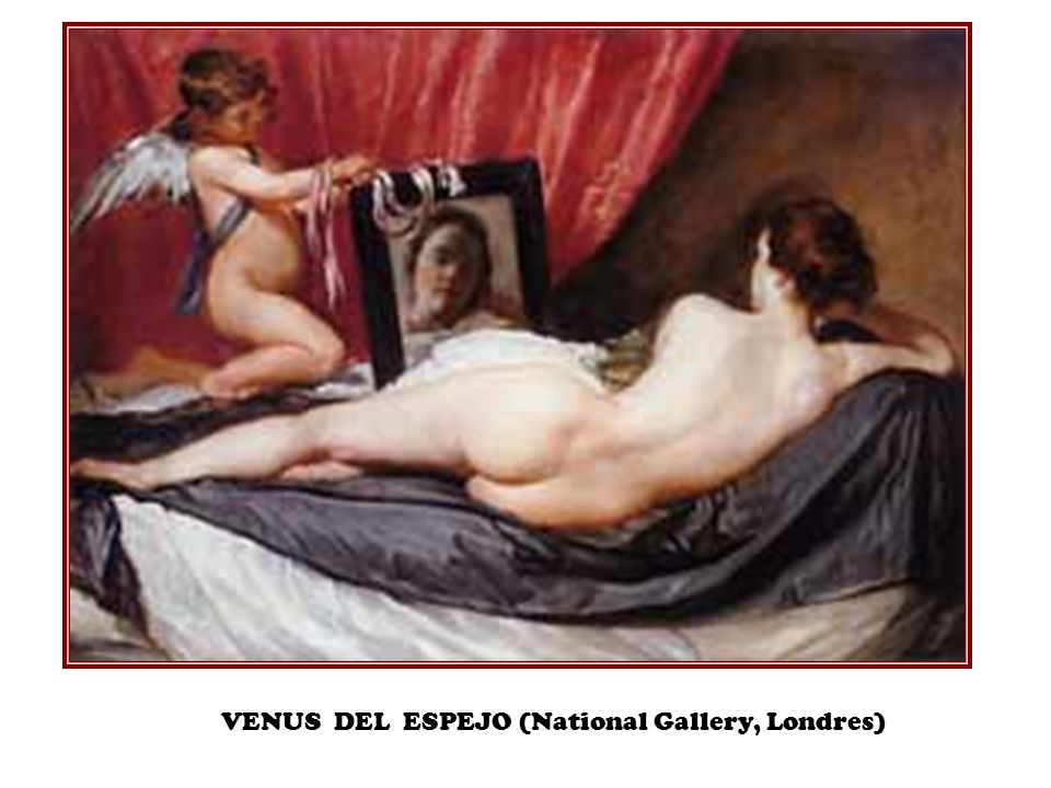VENUS DEL ESPEJO (National Gallery, Londres)