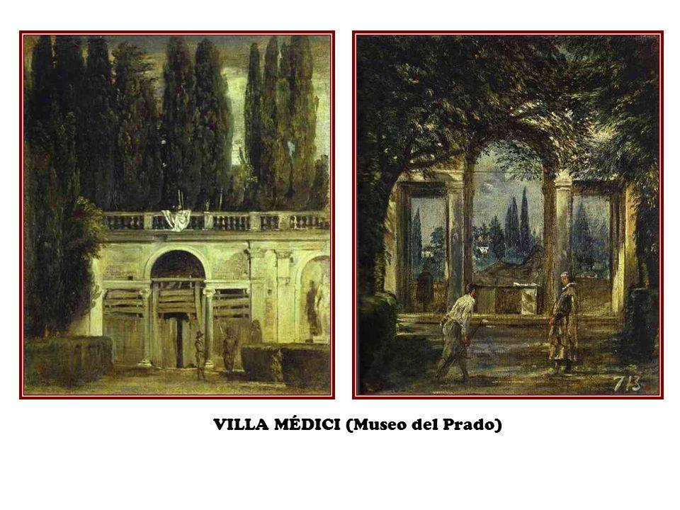 VILLA MÉDICI (Museo del Prado)
