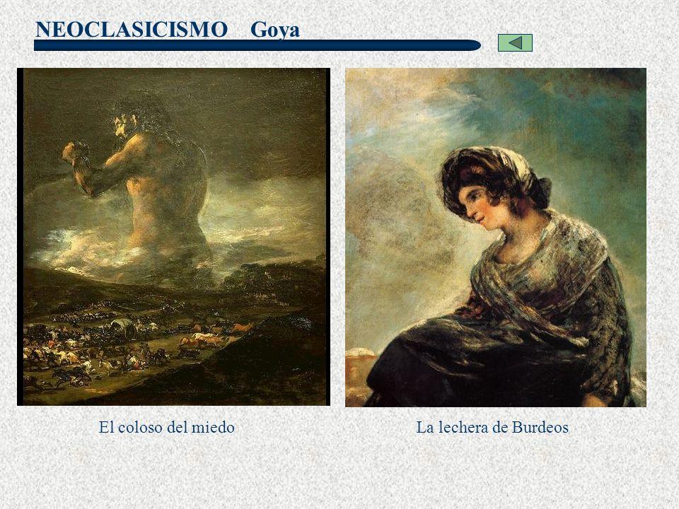 Goya El coloso del miedo La lechera de Burdeos