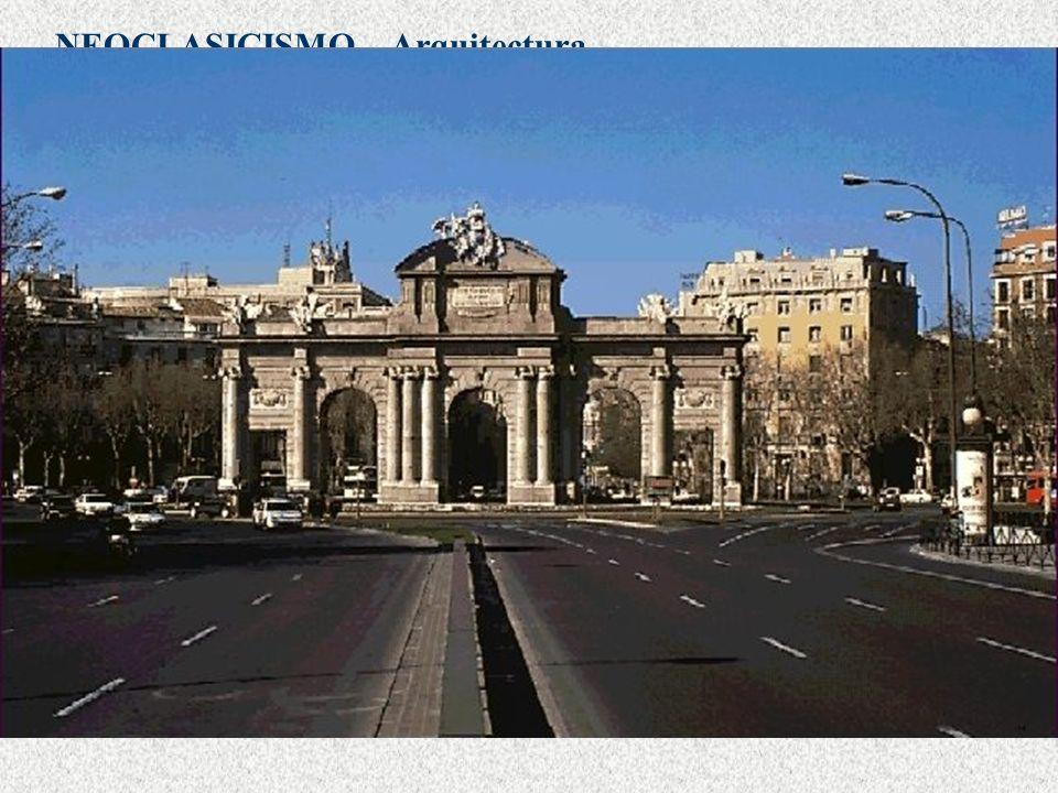 Arquitectura Palacio de Villanueva, actual Museo del Prado