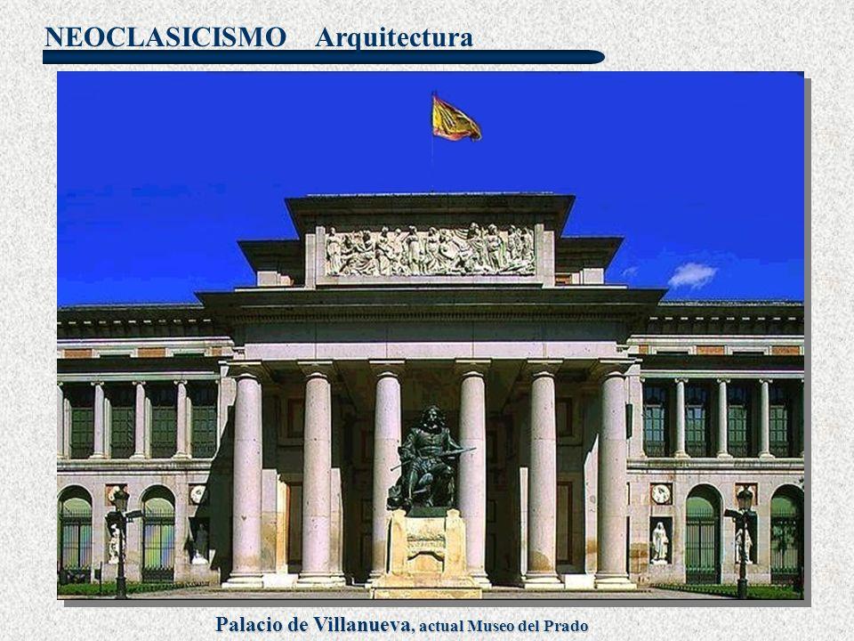 Palacio de Villanueva, actual Museo del Prado