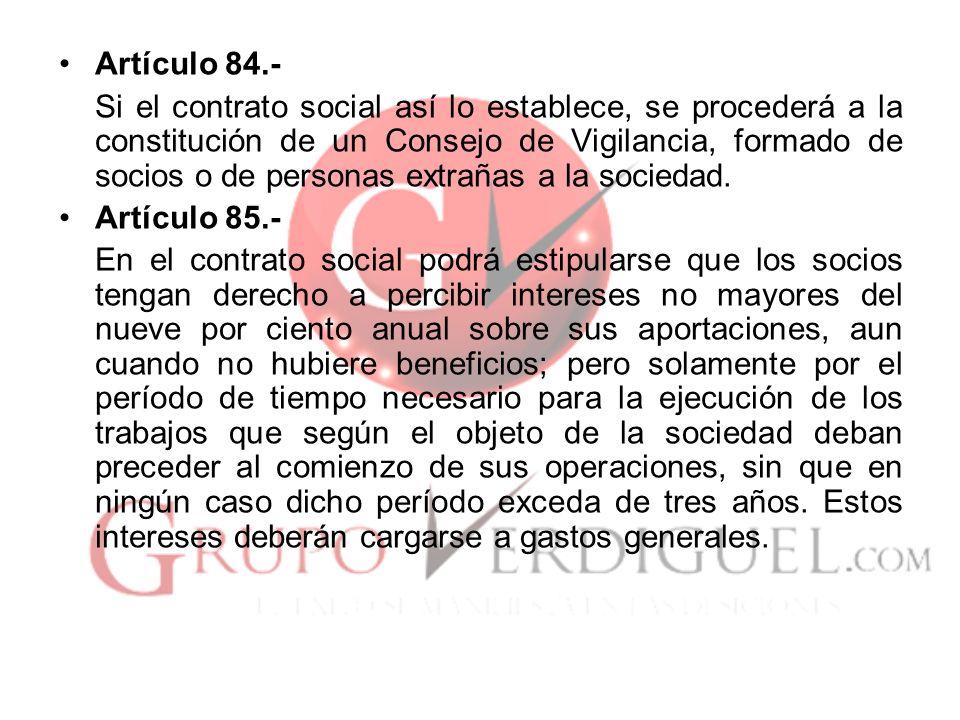 Artículo 84.-