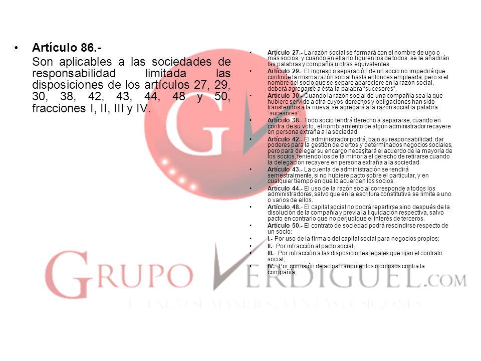 Artículo 86.-