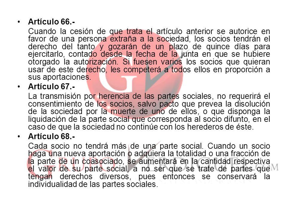 Artículo 66.-