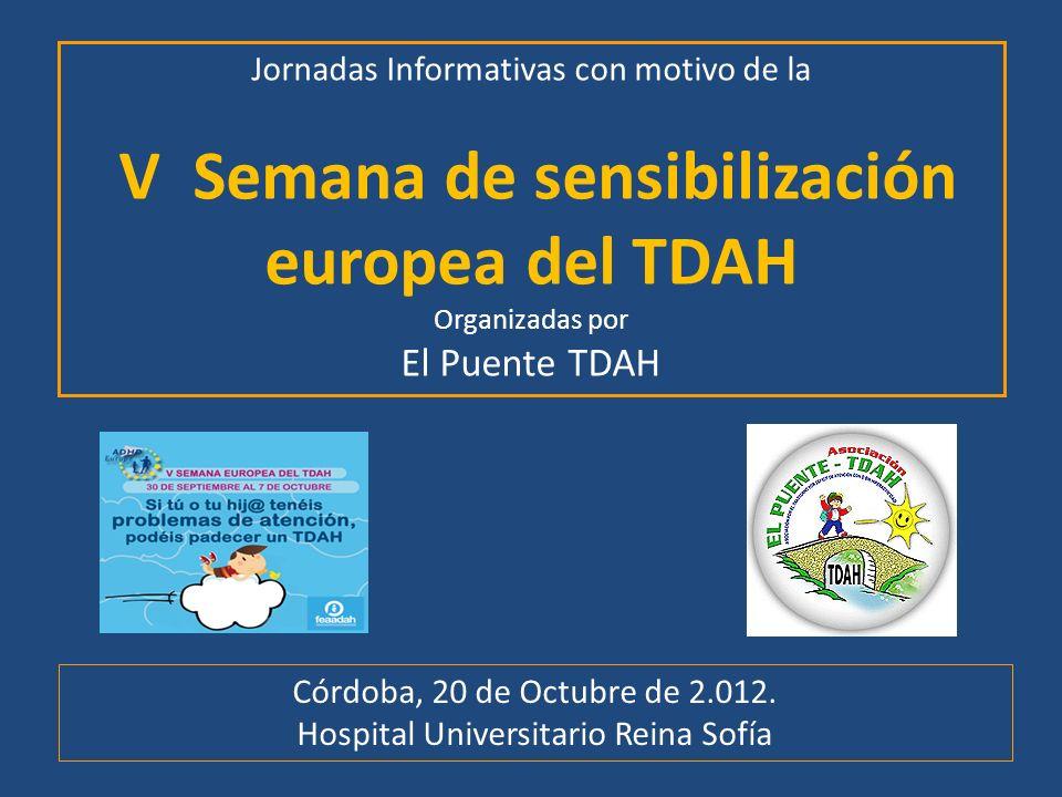 V Semana de sensibilización europea del TDAH